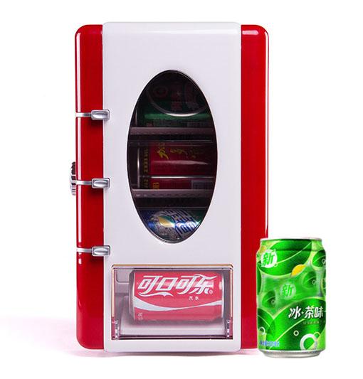 饮料冷藏展现箱 CW-9C (易拉罐按钮跳出)