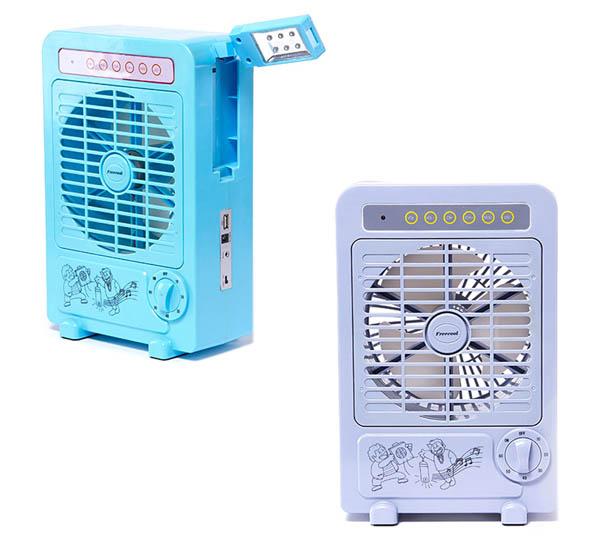 福瑞客最新研发结果:多功能应急电扇